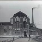 Verwaltungsgebäude an der Kruppstraße in den 1920er Jahren
