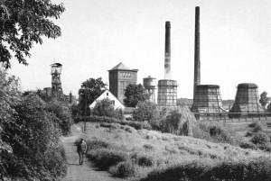 Zeche Rosenblumendelle 1958